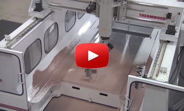 Thermwood Model 77 Machining Ren Shape Pattern
