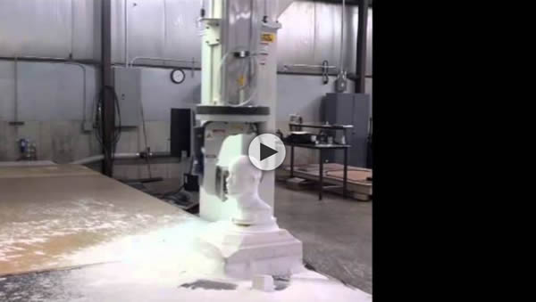 Thermwood Model 70 Continuous C-Axis Rotation Modeling