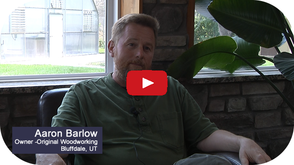 Aaron Barlow of Original Woodworking on his Thermwood Cut Center