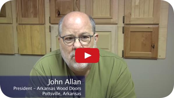 John Allan of Arkansas Wood Doors on his new Cut Ready Cut Center