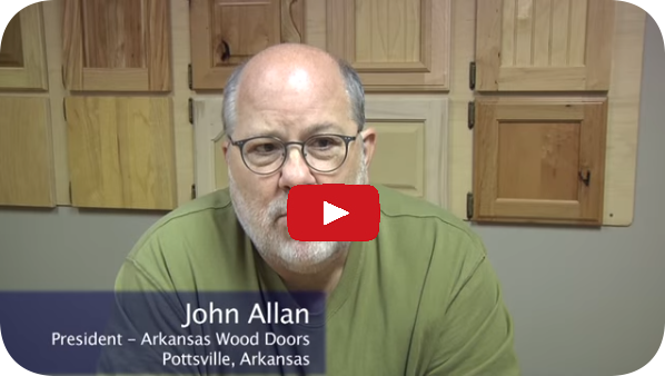 John Allan of Arkansas Wood Doors on his new Cut Ready Cut Center