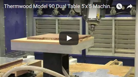 Thermwood Model 90 Machining Honeycomb