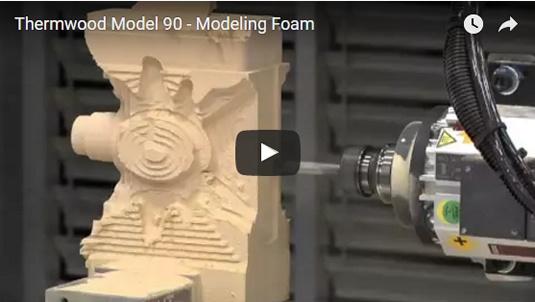 Thermwood Model 90 Machining Foam