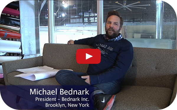 Michael Bednark of Bednark, Inc. on his new Cut Center
