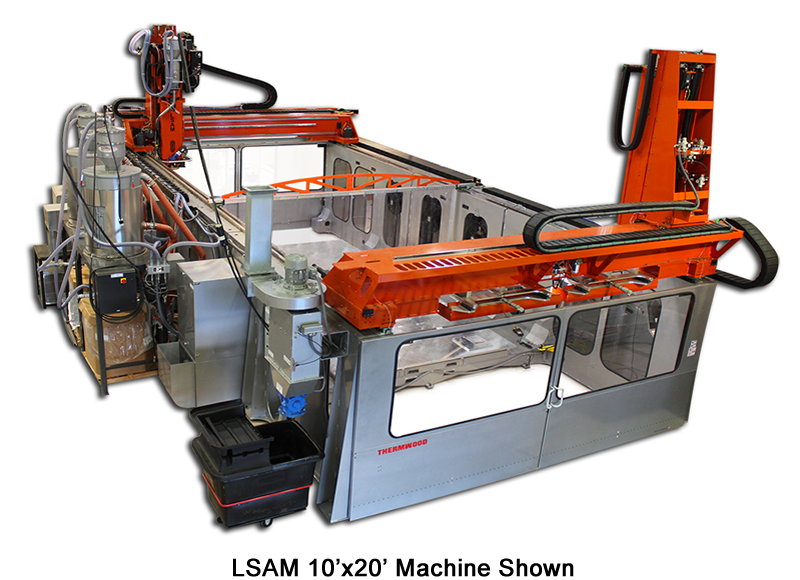 Thermwood LSAM 10'x20' Machine