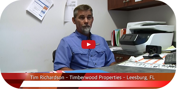 Tim Richardson of Timberwood Properties of Leesburg, FL on their new Thermwood Cut Center